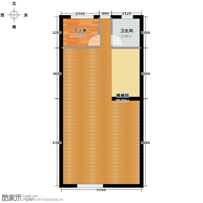 江南山水255.43㎡T1地下一层户型10室