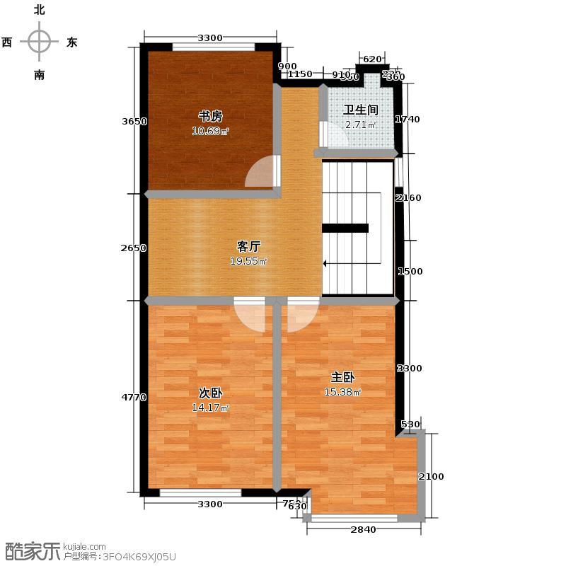 北京湾70.27㎡A5二层户型10室