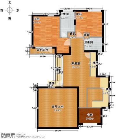 富力湾・半岛别墅170.00㎡户型图