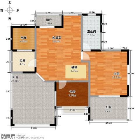 天一城2室0厅1卫0厨136.00㎡户型图