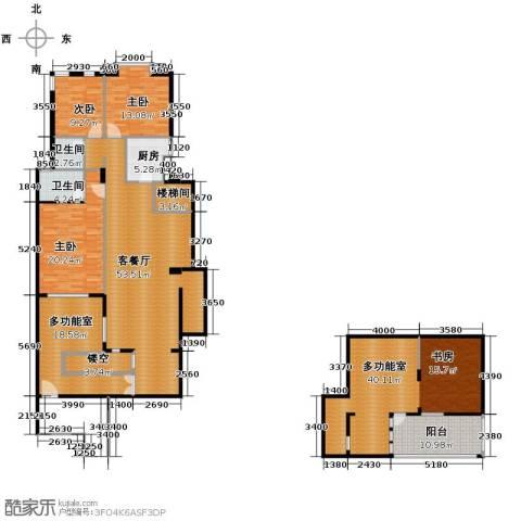 欧博城184.96㎡户型图