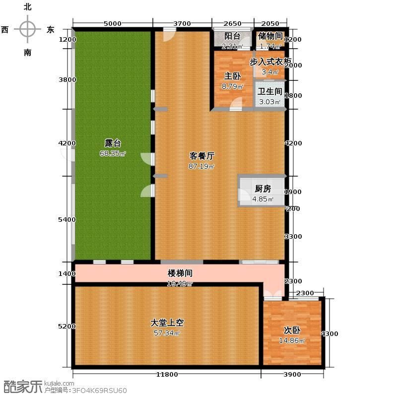 金科王府373.74㎡35-4-2防潮层户型10室
