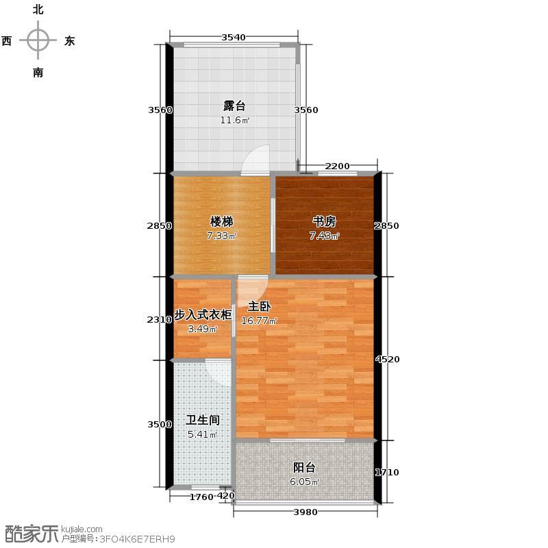 龙园意境天赋63.95㎡复式户型10室