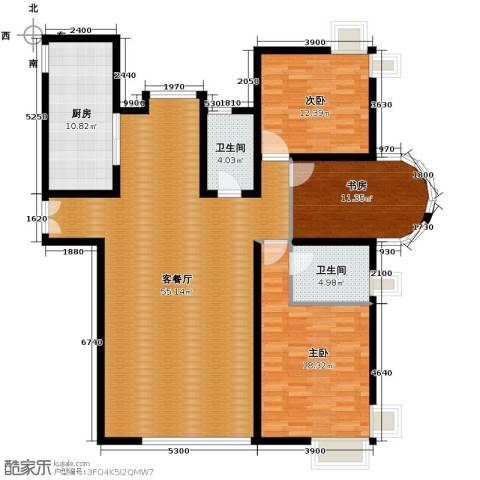 海河大道宽景公寓164.00㎡户型图