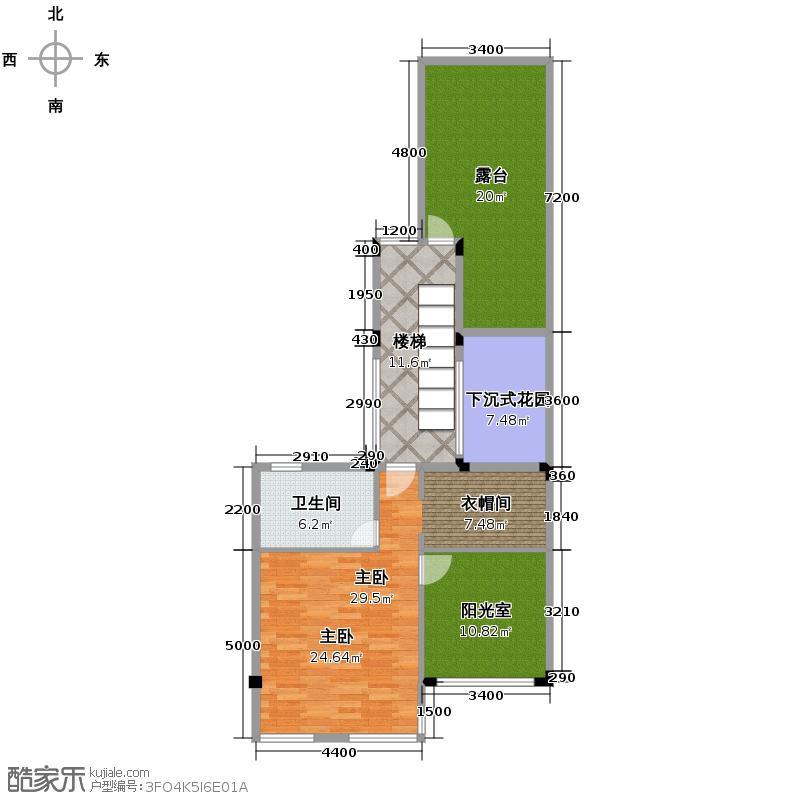 当代国际花园十五区高层94.98㎡户型10室