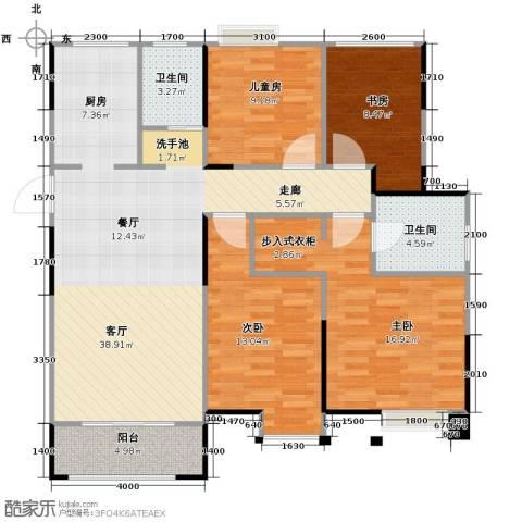 旭辉・御府4室2厅2卫0厨132.00㎡户型图