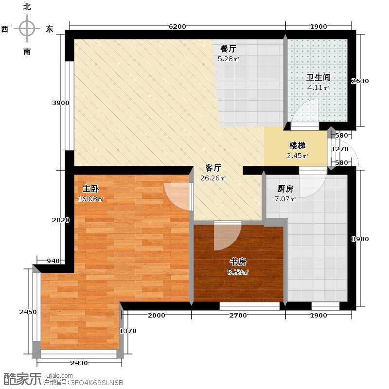 九州国际84.70㎡A2户型10室