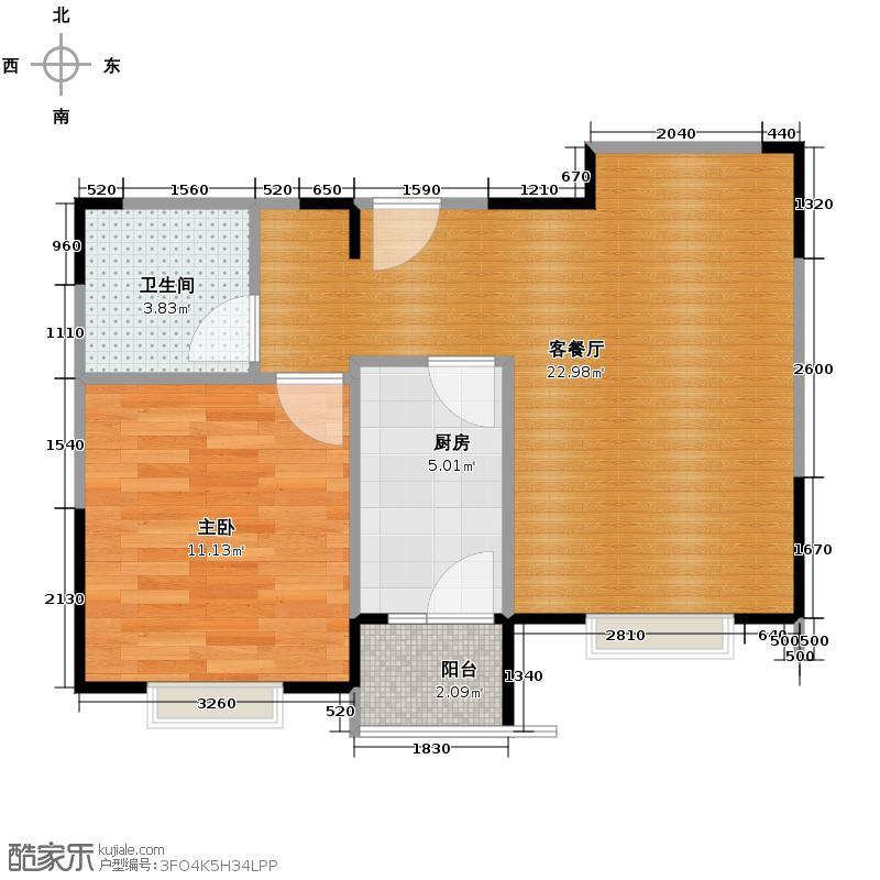 小镇西西里63.61㎡四期B2-户型10室
