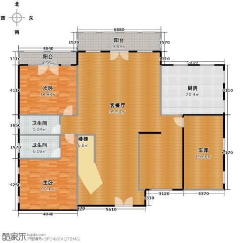 天恒・半山世家7室4厅5卫0厨217.00㎡户型图