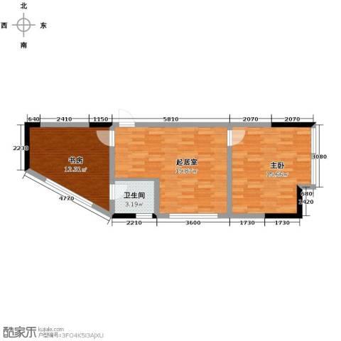 融汇新时代2室0厅1卫0厨72.00㎡户型图