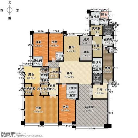 合生・霄云路8号5室3厅6卫0厨520.00㎡户型图