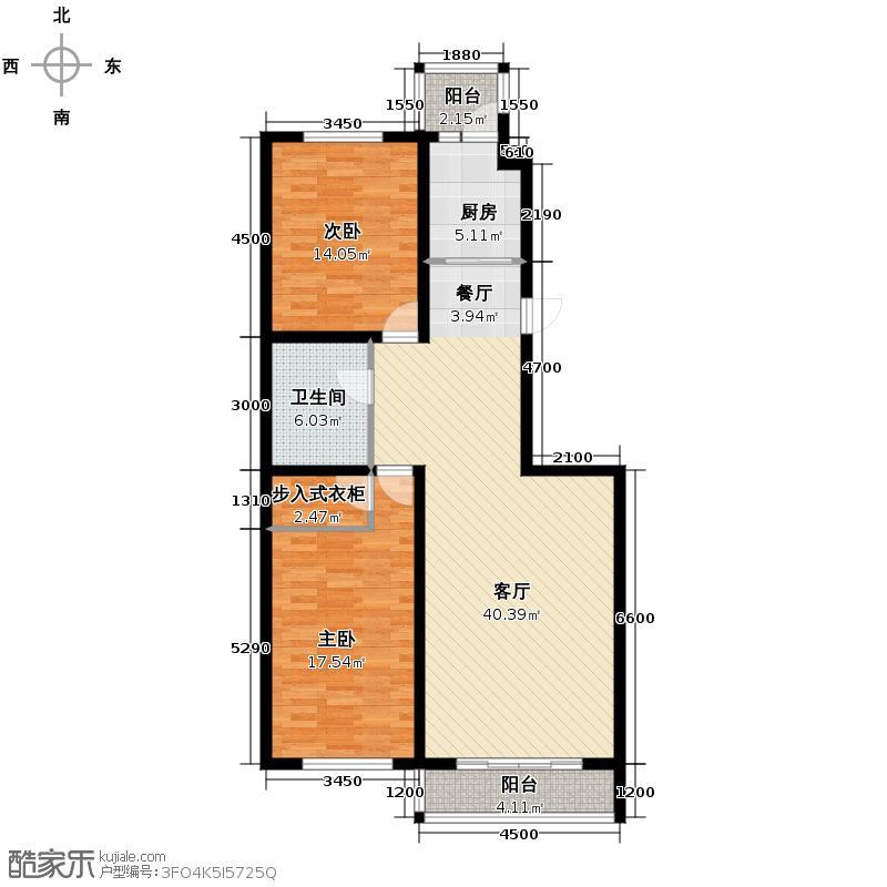海天国际公寓124.00㎡户型10室