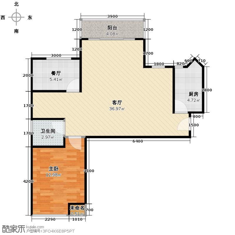 名品建筑135.49㎡3-11户型4室2厅2卫