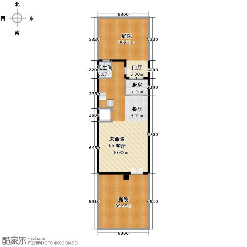鹭岭165.23㎡12银角对户-05户型10室