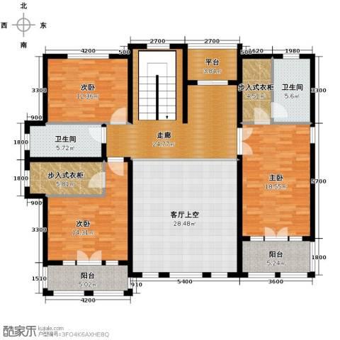 天恒・半山世家9室2厅6卫0厨134.20㎡户型图