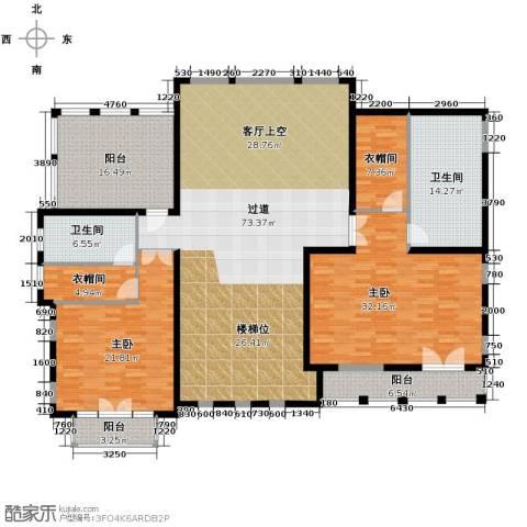 天恒・半山世家7室4厅5卫0厨186.75㎡户型图