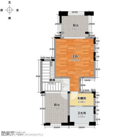 隆鑫72府1室0厅1卫0厨145.00㎡户型图