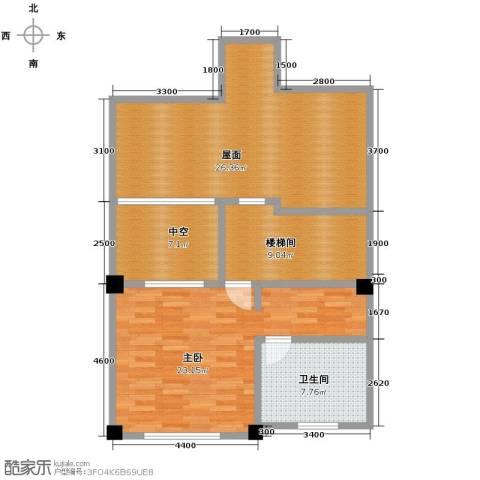 联发滨海琴墅2室0厅1卫0厨73.41㎡户型图