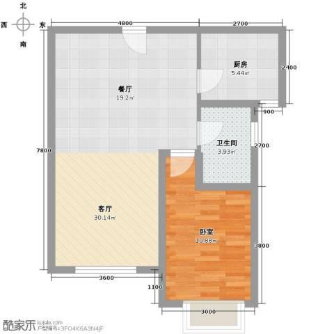 中建御邸世家71.00㎡户型图