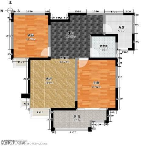 海河大道宽景公寓105.00㎡户型图