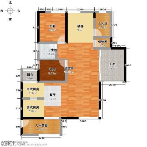 长江楚韵3室2厅3卫0厨227.00㎡户型图