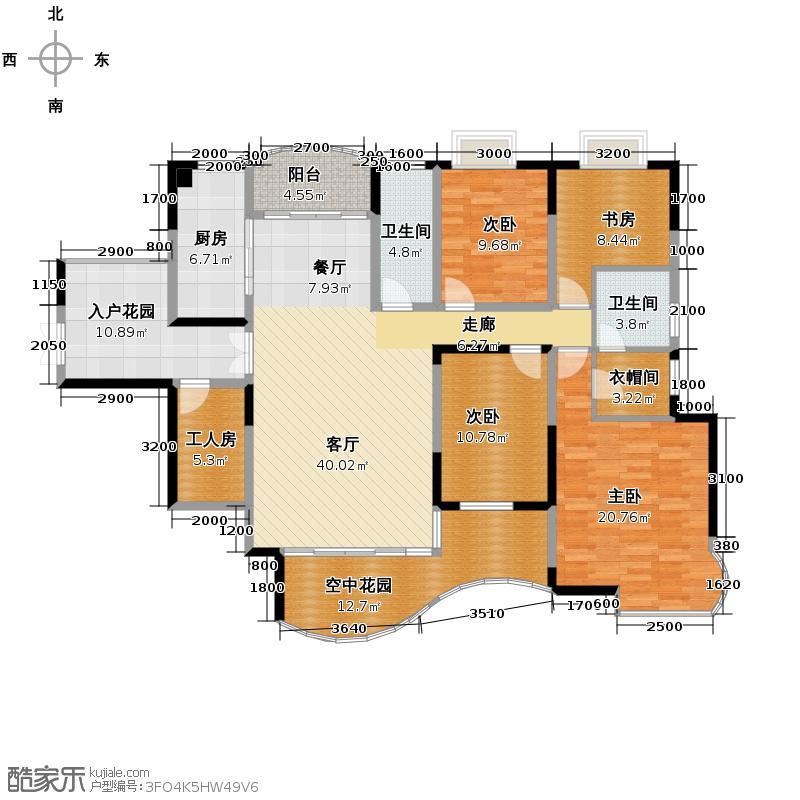 永祺西京160.64㎡户型10室