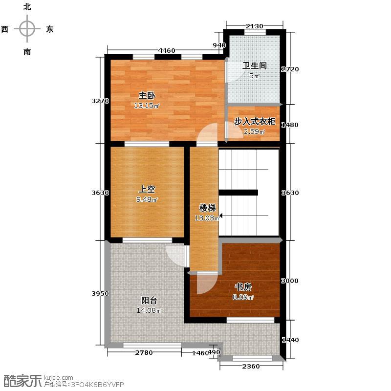 橘郡74.72㎡A113层户型10室