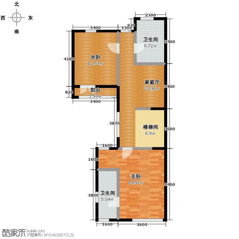 招商钻石山248.00㎡二层户型10室