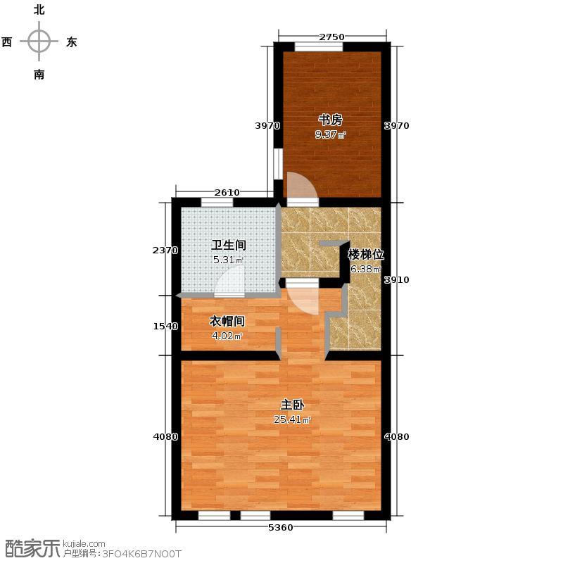 首创玲珑墅191.00㎡联排别墅MC三层户型10室