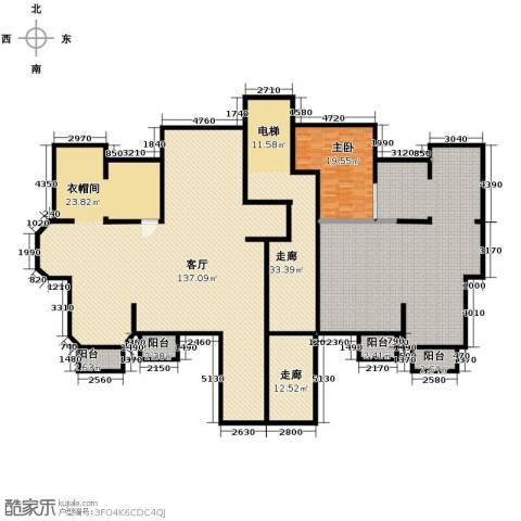 金地锦城1室1厅0卫0厨400.00㎡户型图