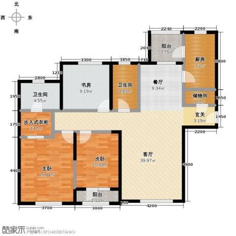 仁恒海河广场140.00㎡户型图