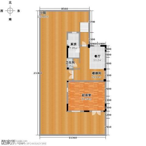 中惠团泊湾273.00㎡户型图
