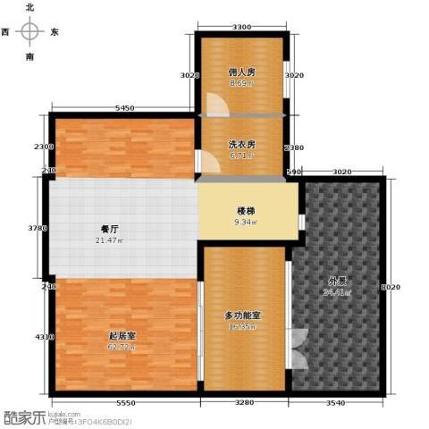 艾维诺森林3室2厅0卫0厨164.00㎡户型图