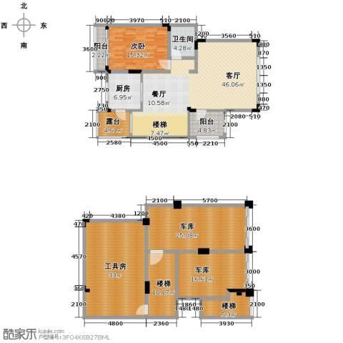 海宇西湖山水5室3厅3卫0厨210.00㎡户型图