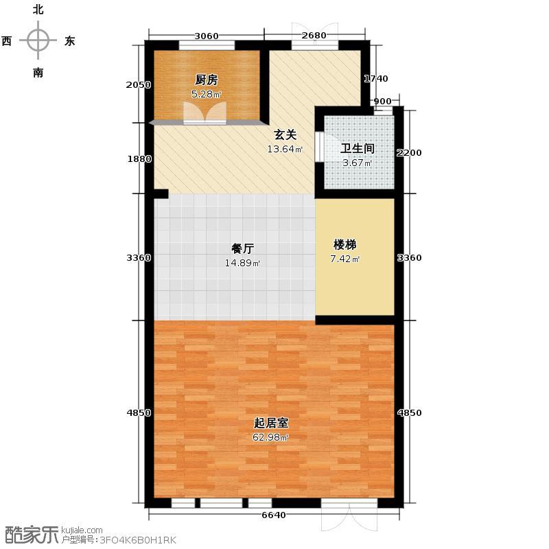 中信公园城79.06㎡L3一层户型10室