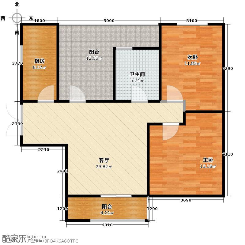 永泰枕流GOLF公寓94.90㎡D1户型10室