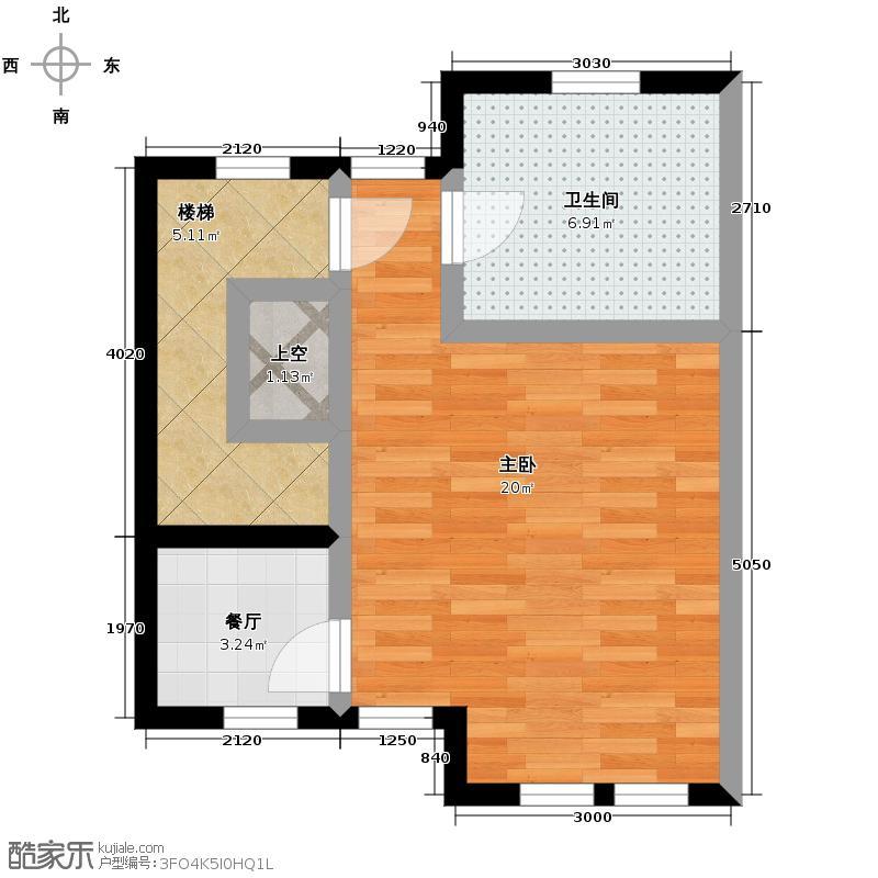 首创国际半岛225.00㎡K三层户型10室