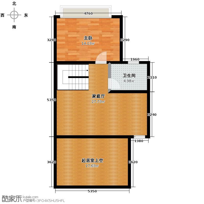 盈峰翠邸240.00㎡B4型二层户型10室