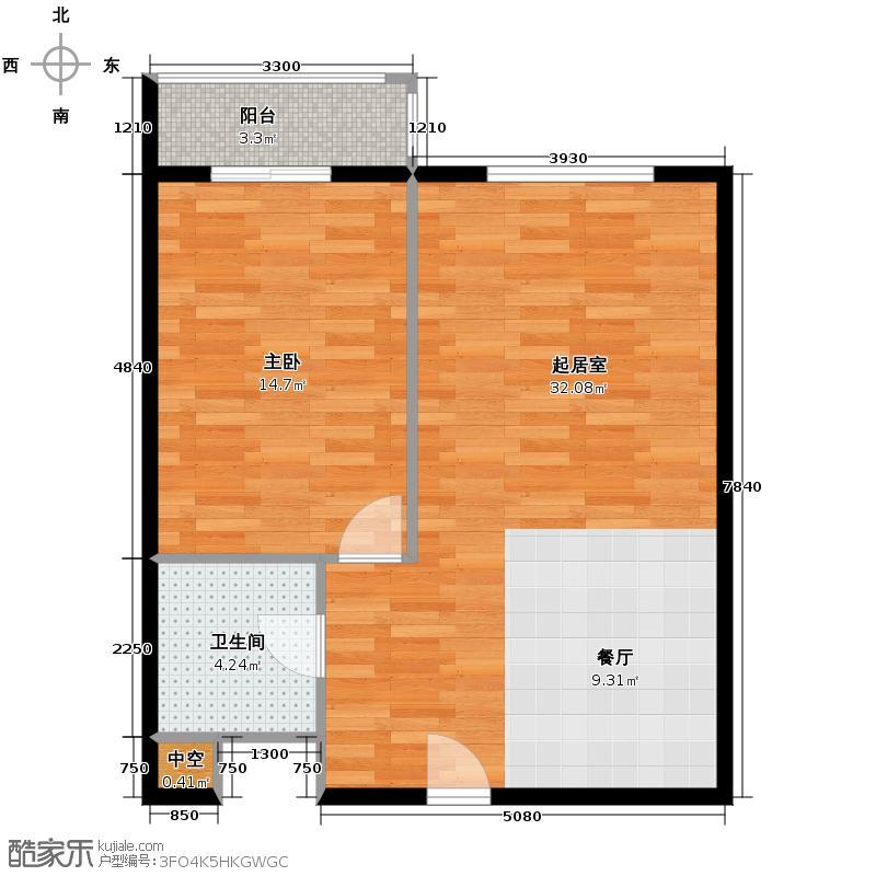 滨海先锋SOHO78.00㎡A3户型10室