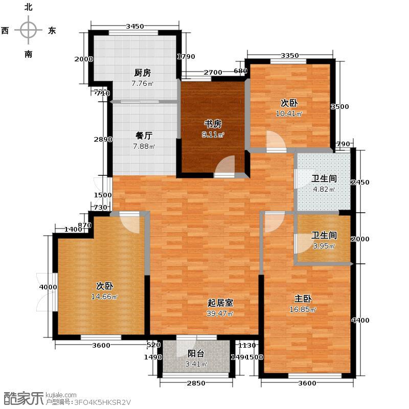 弘泽城148.00㎡13号楼-B户型10室