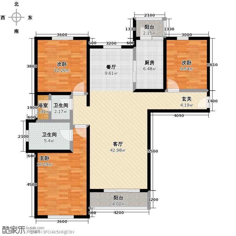 万通生态城新新家园147.00㎡高层1--13F户型10室