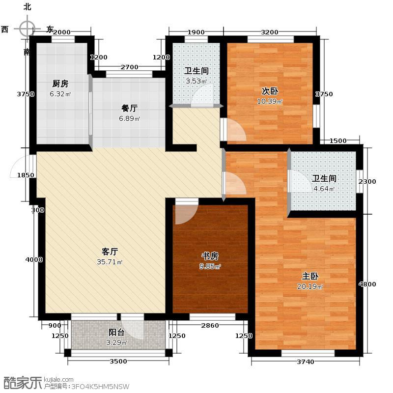 弘泽城142.00㎡16号楼-I户型10室