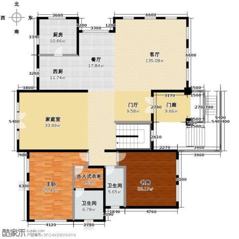 天恒・半山世家7室4厅4卫0厨253.00㎡户型图