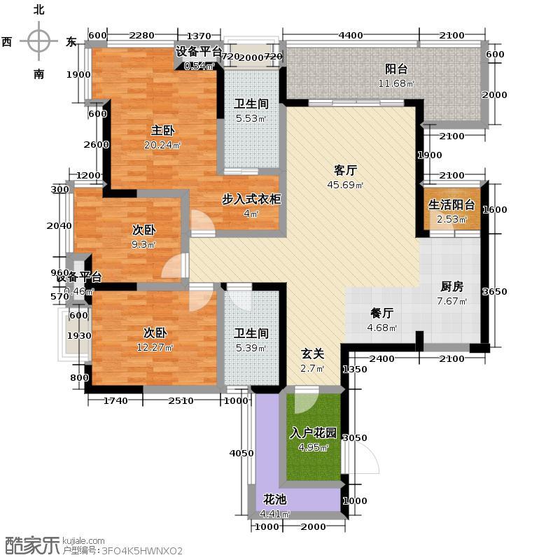 新鸿基悦城140.00㎡2011年在售1期4、5栋户型10室