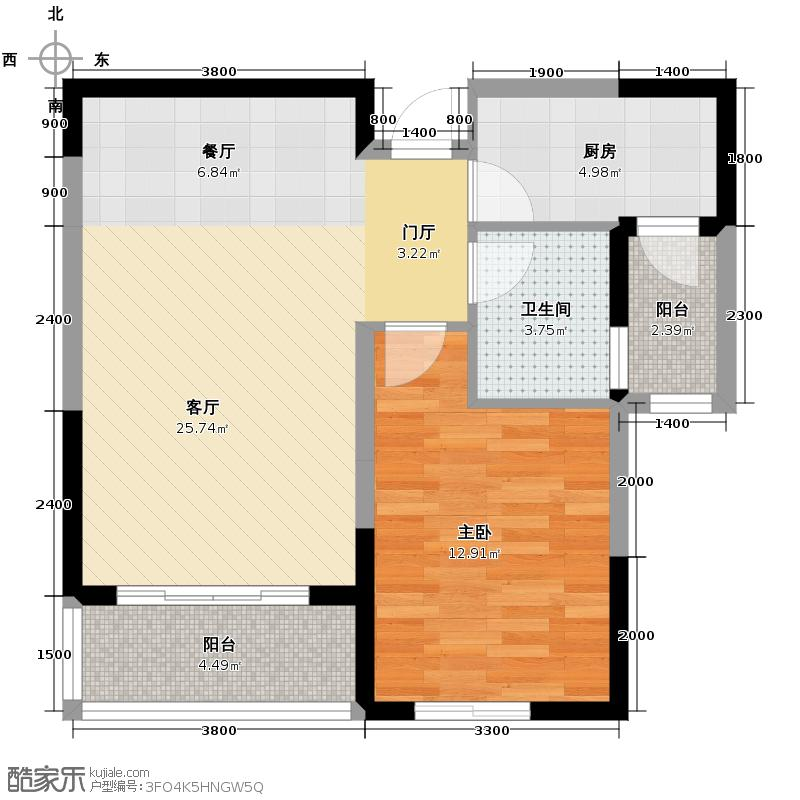 贻成豪庭78.00㎡G5户型10室