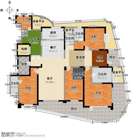 成都大魔方5室3厅5卫0厨300.12㎡户型图