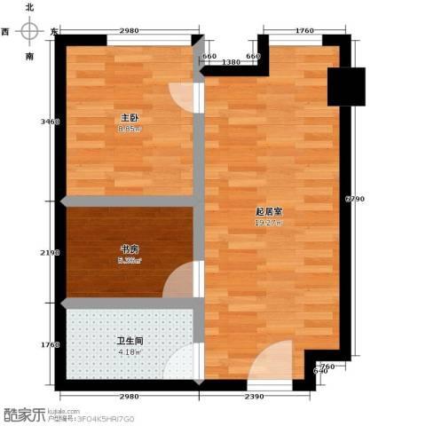 YOHO湾2室2厅1卫0厨73.00㎡户型图