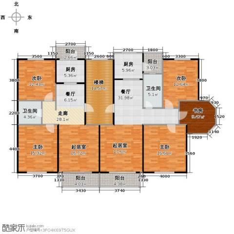 翰林雅苑235.00㎡户型图