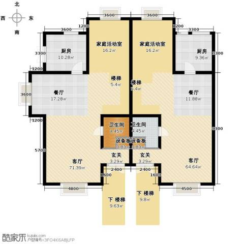 渤海度假村229.00㎡户型图