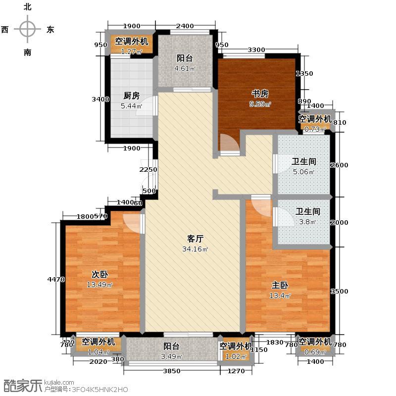 天保金海岸明珠湾138.00㎡户型10室